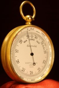 Image of Negretti & Zambra Pocket Barometer No 10095 c1923