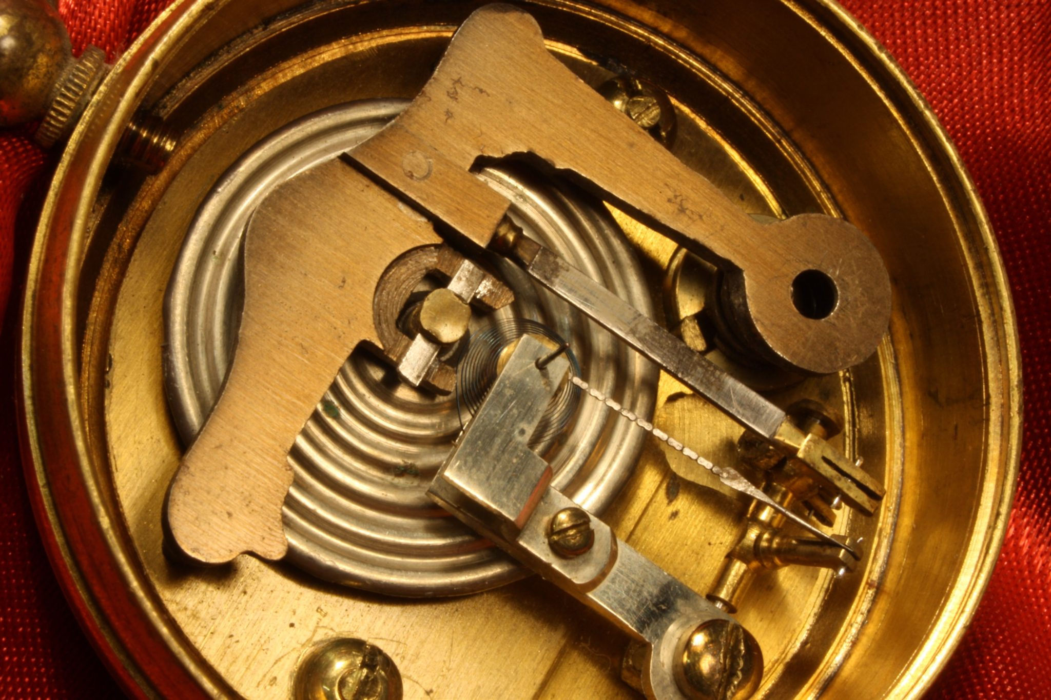 Image of Negretti & Zambra Pocket Barometer Retailed by ANCOSL c1870