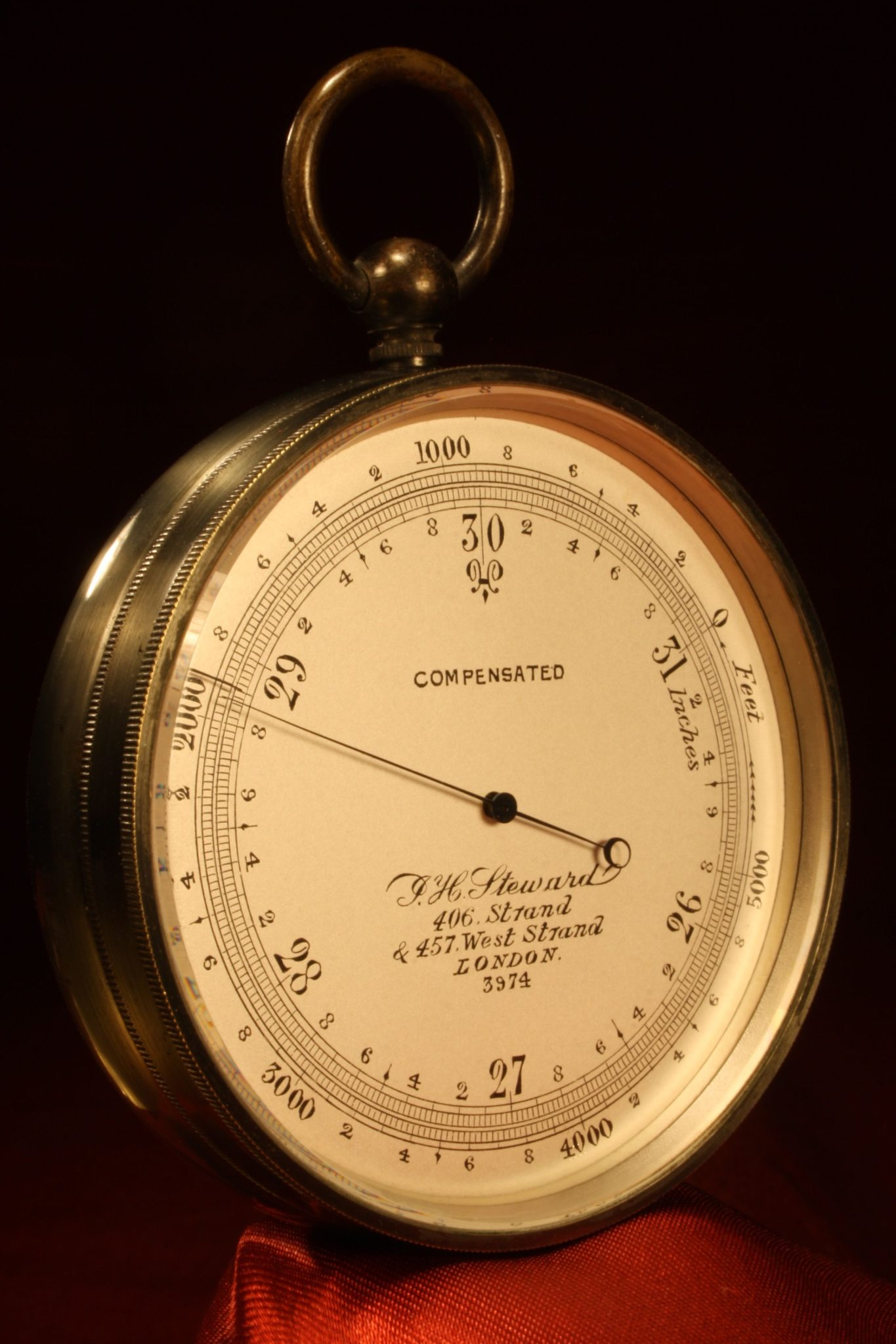 Image of Steward Pocket Barometer No 3974