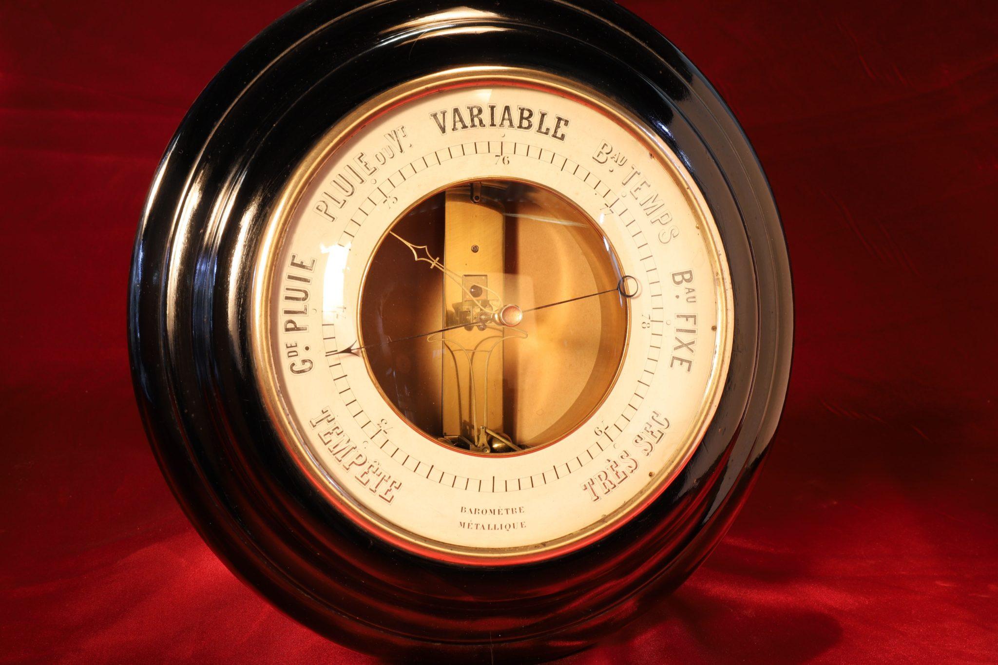 Image of Bourdon & Richard Barometer No 1783 c1850