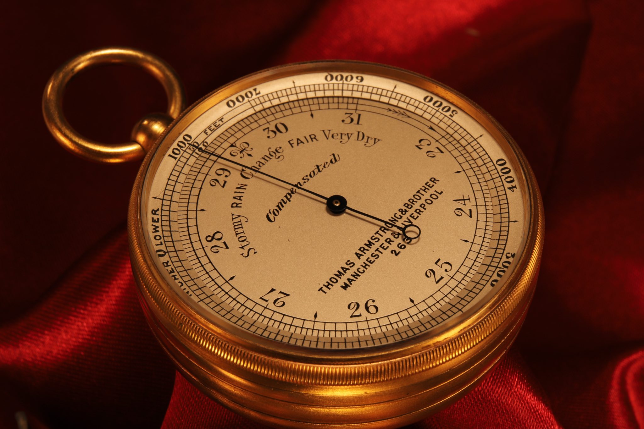 Image of Pocket Barometer by Armstrong No 263