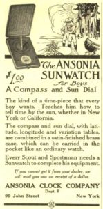 Image of Ansonia Sunwatch c1922