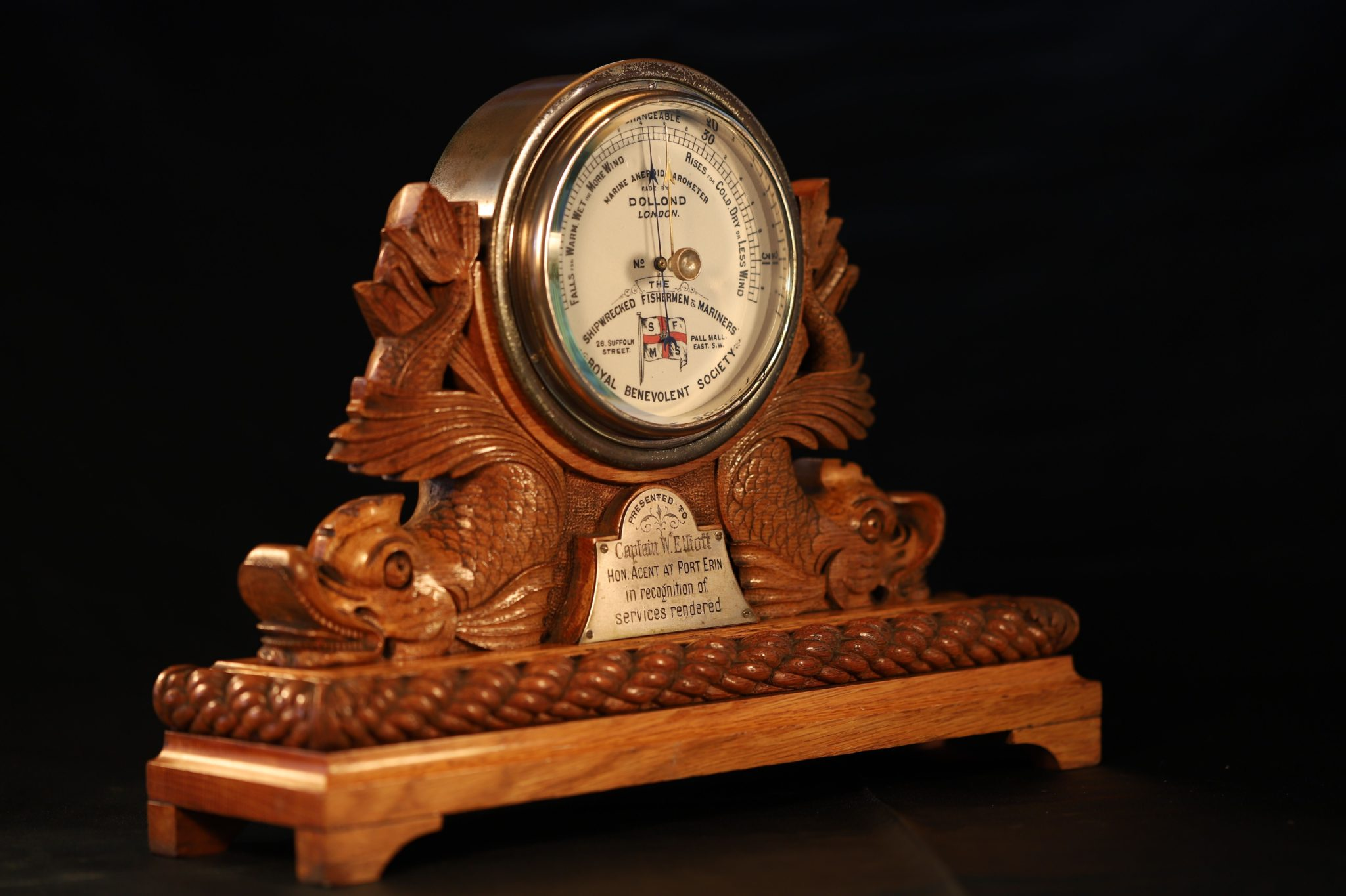 Image of Dollond Shipwrecked Barometer No 6624