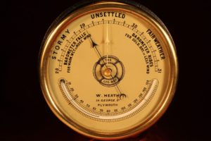 Image of The Life-Buoy Barometer by Dollond Retailed by Heath