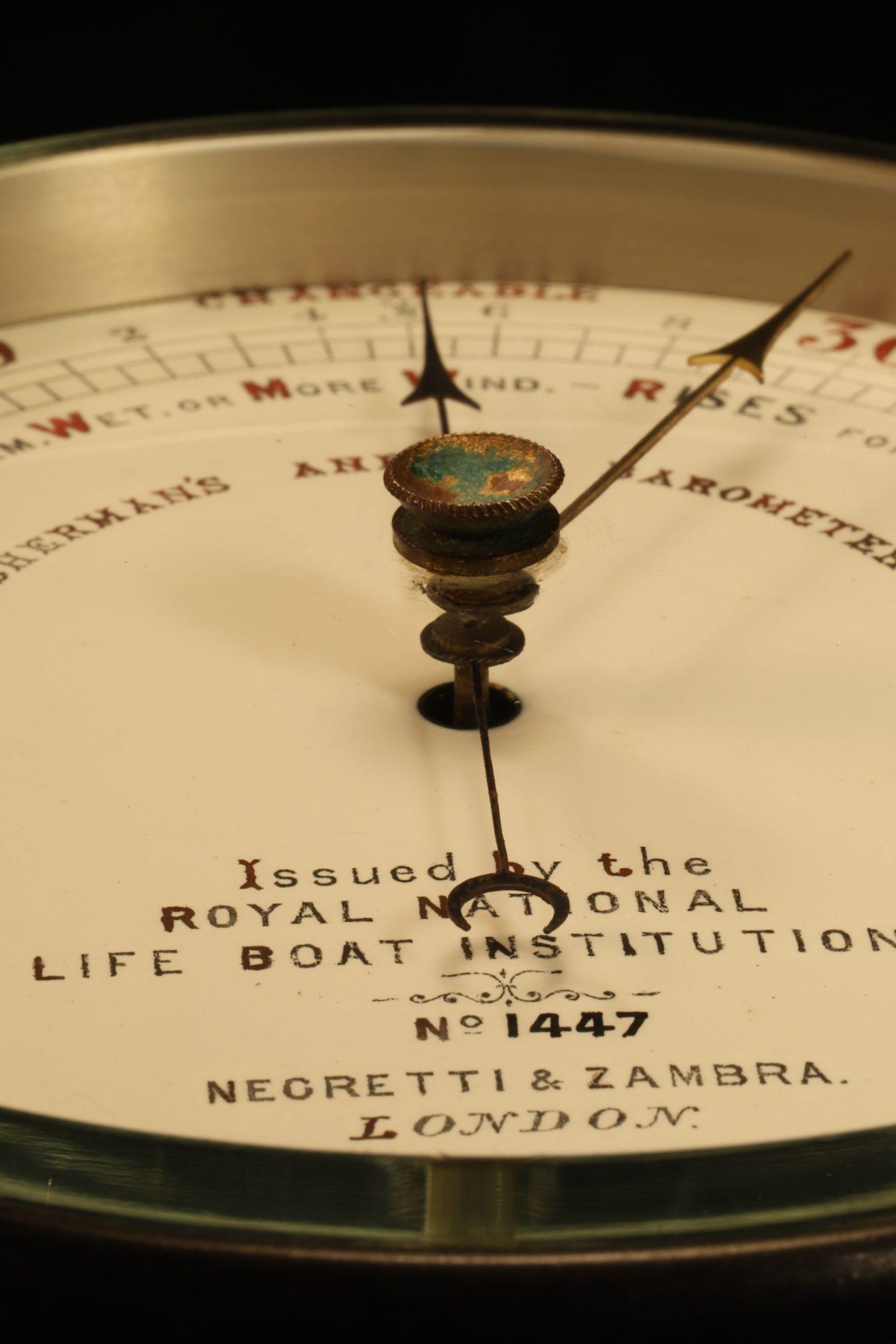 Image of Negretti & Zambra RNLI Barometer No 1447