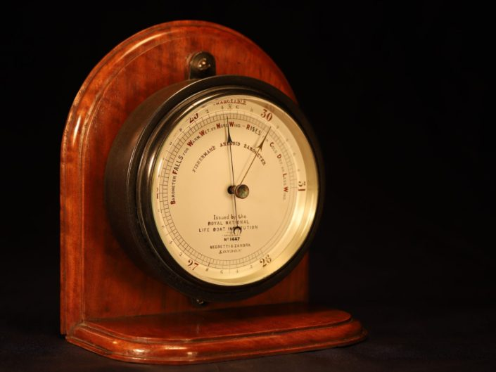 FISHERMANS MARINE BAROMETER BY NEGRETTI & ZAMBRA No 1447 c1880