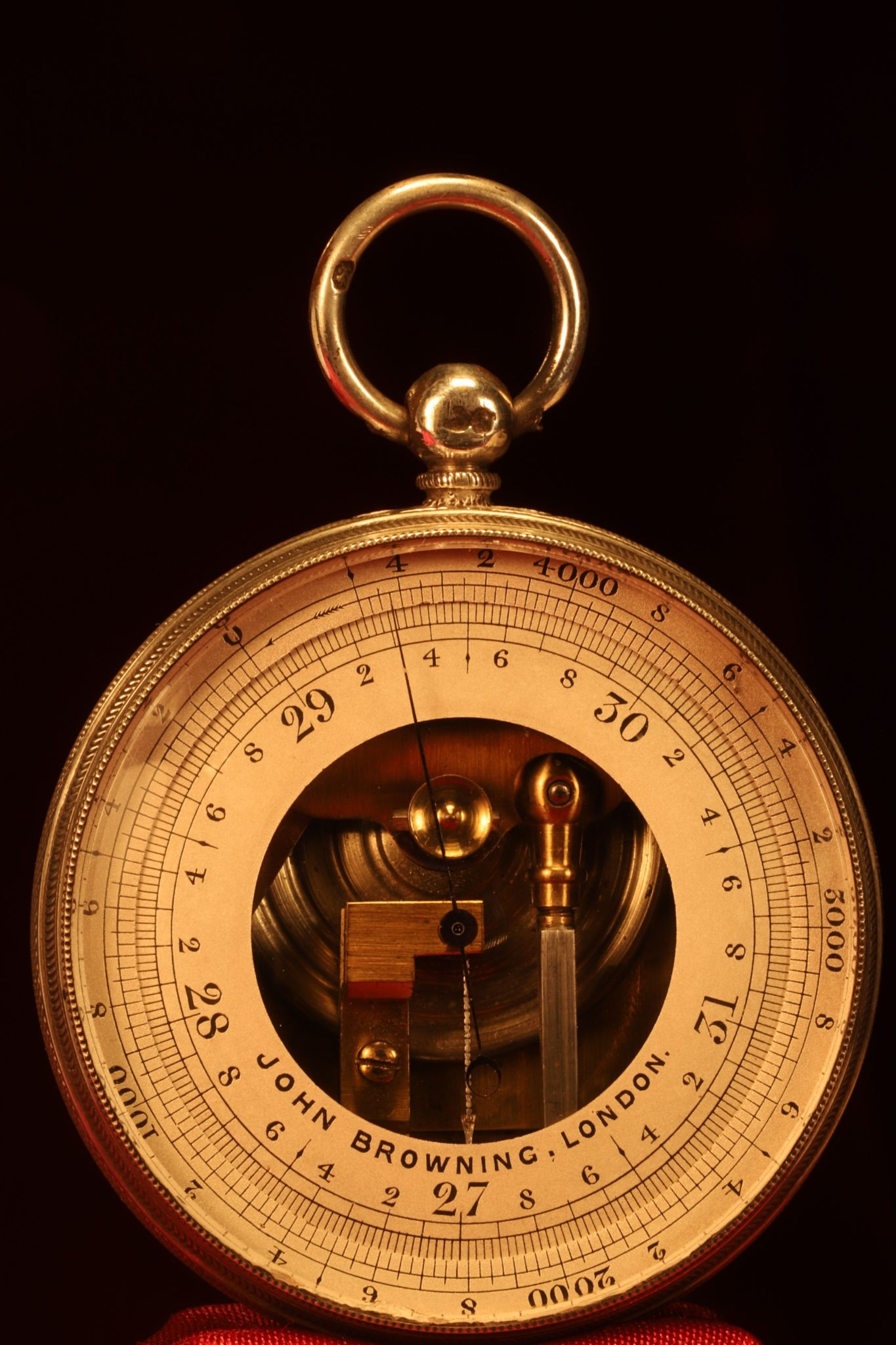 Image of John Browning Pocket Barometer c1863