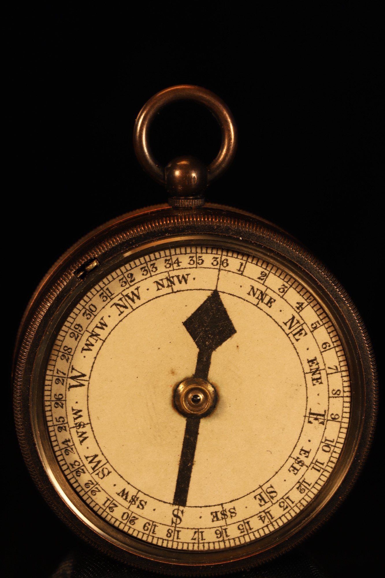 Image of Negretti & Zambra Pocket Barometer Compendium No 20068 c1905