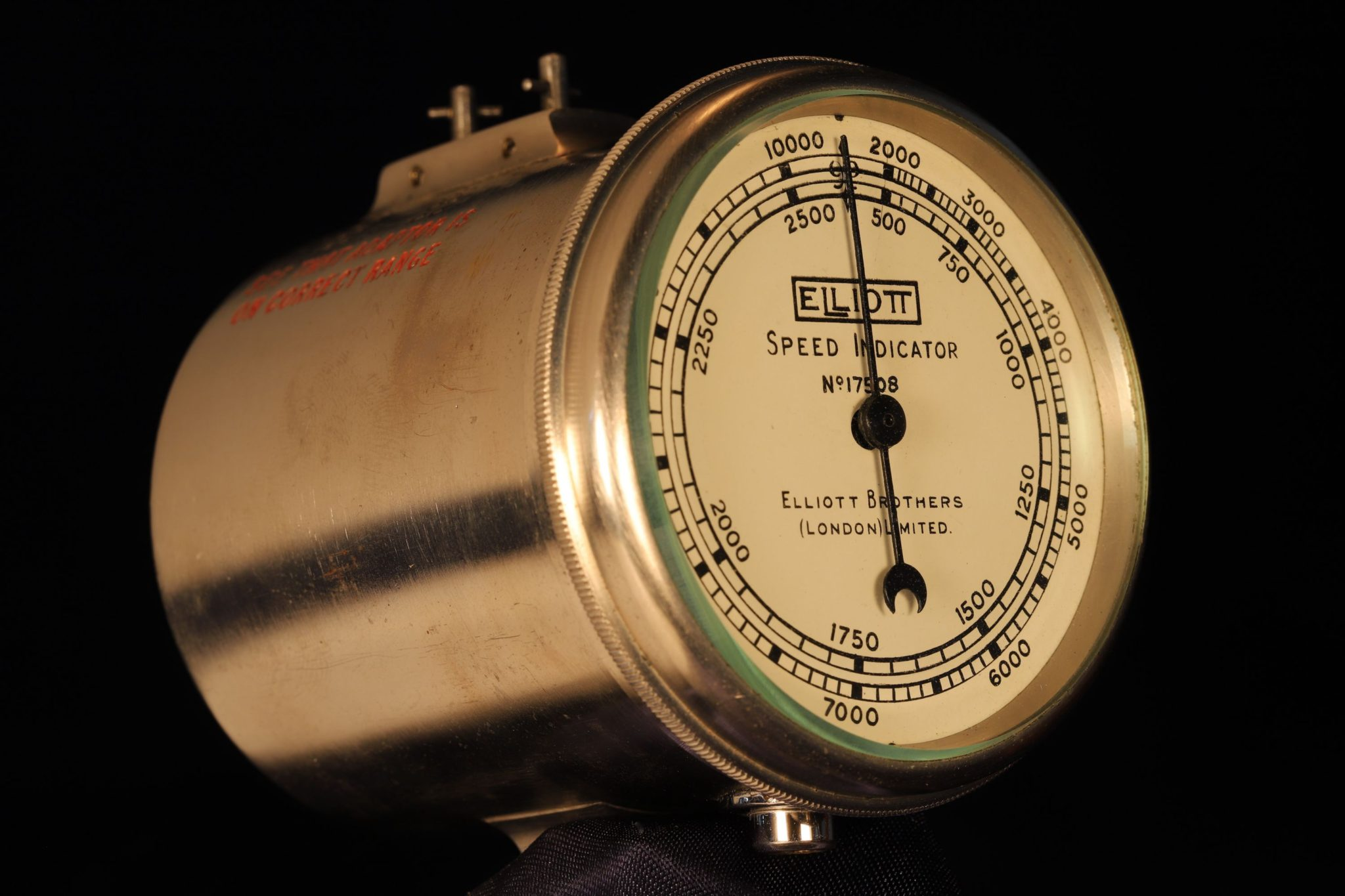 Image of Elliott Brothers Speed Indicator No 17508 c1920
