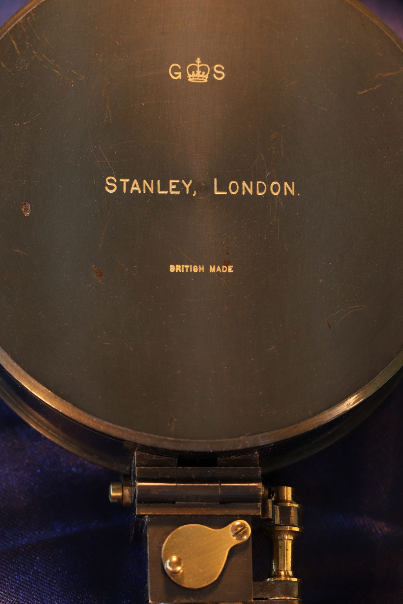 Image of Stanley Geological Survey Compass c1920