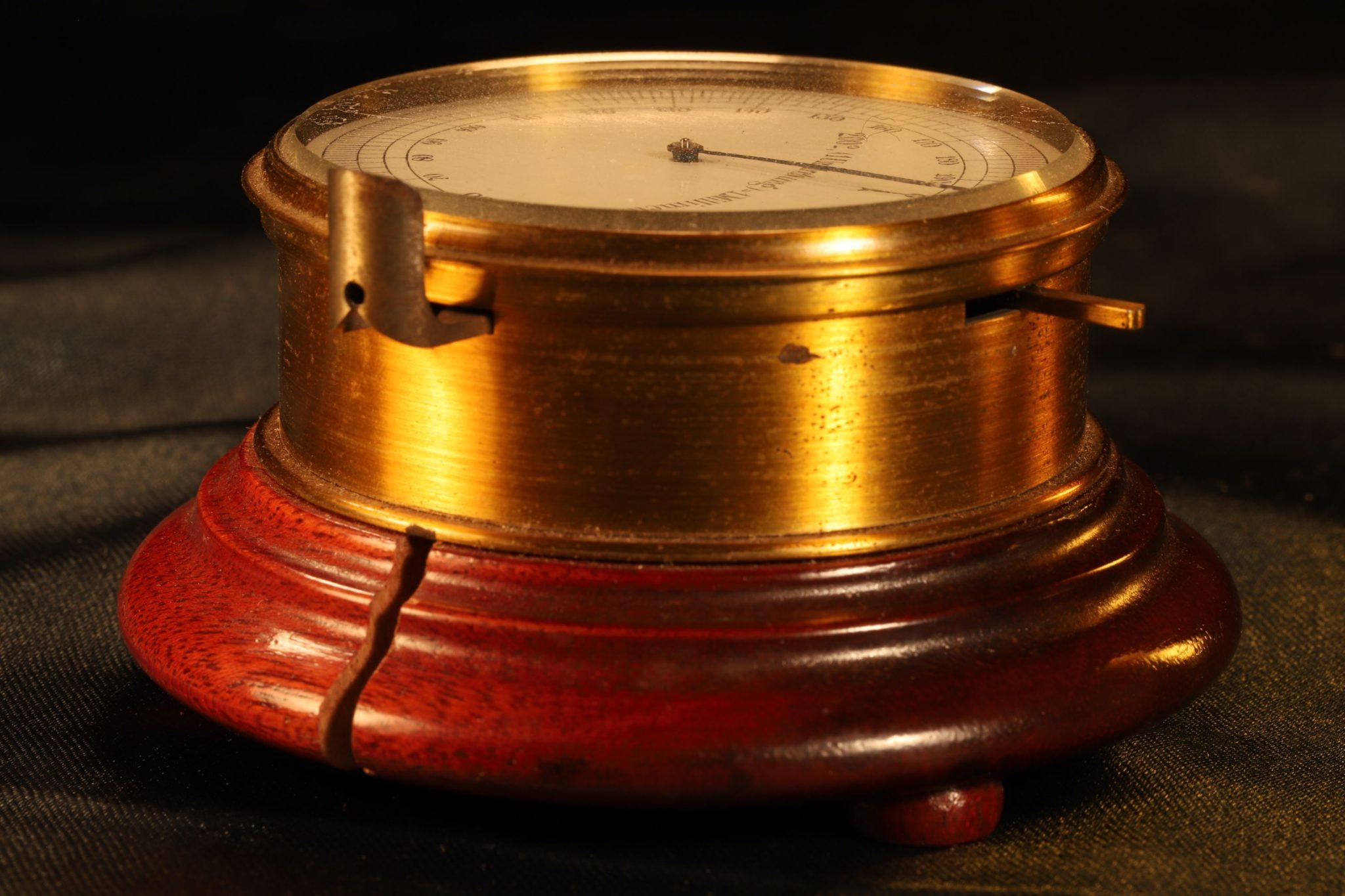 Image of Swiss Watchmakers Micrometer Dial Gauge c1890