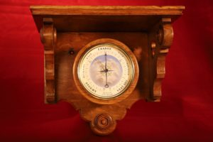 Image of Bourdon & Richard Series 2 Barometer No 16717 in Clock Bracket c1870