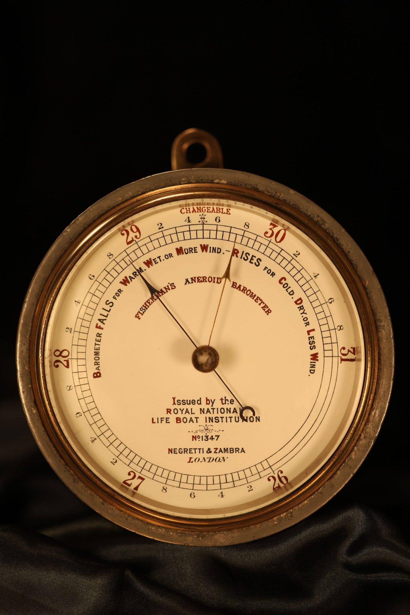 Image of RNLI Marine Barometer by Negretti & Zambra No 1347 c1880