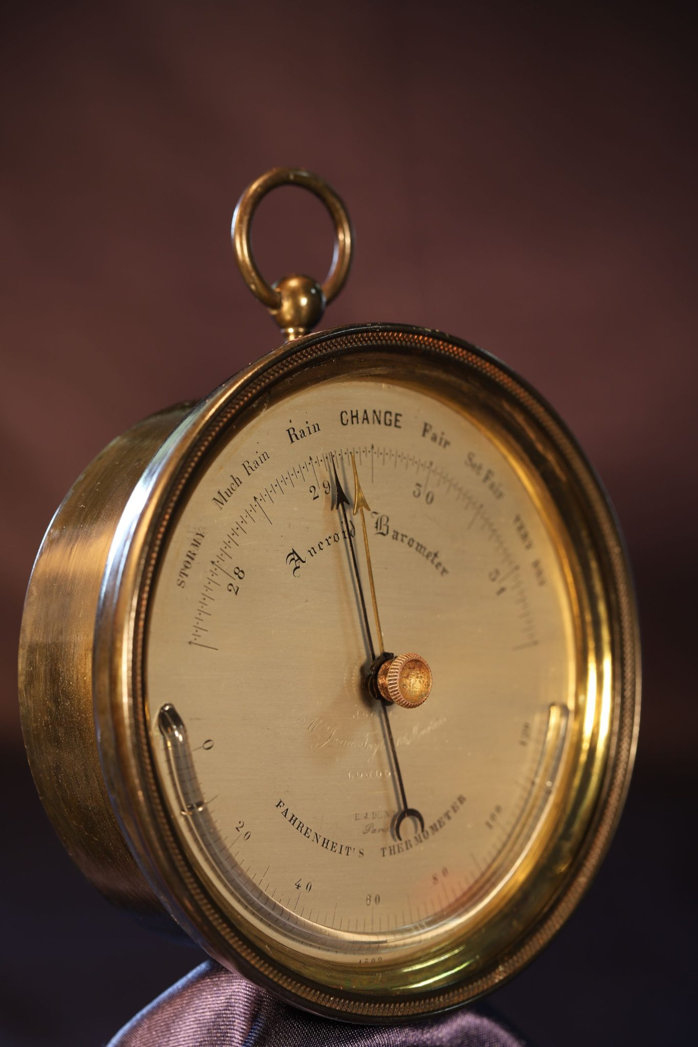 Image of Dent Barometer No 4522