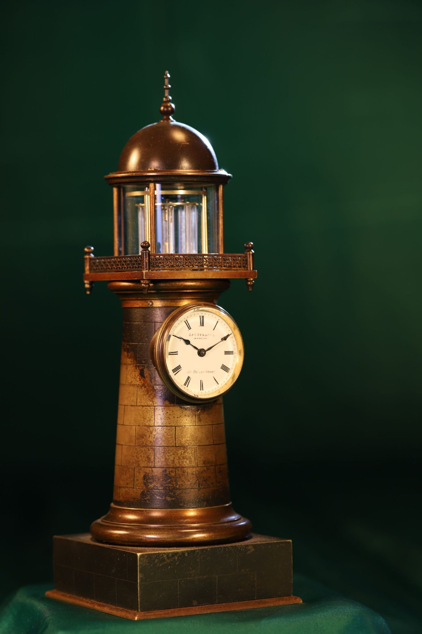 Image of Industrial Series Lighthouse Clock by Guilmet No 249 c1870