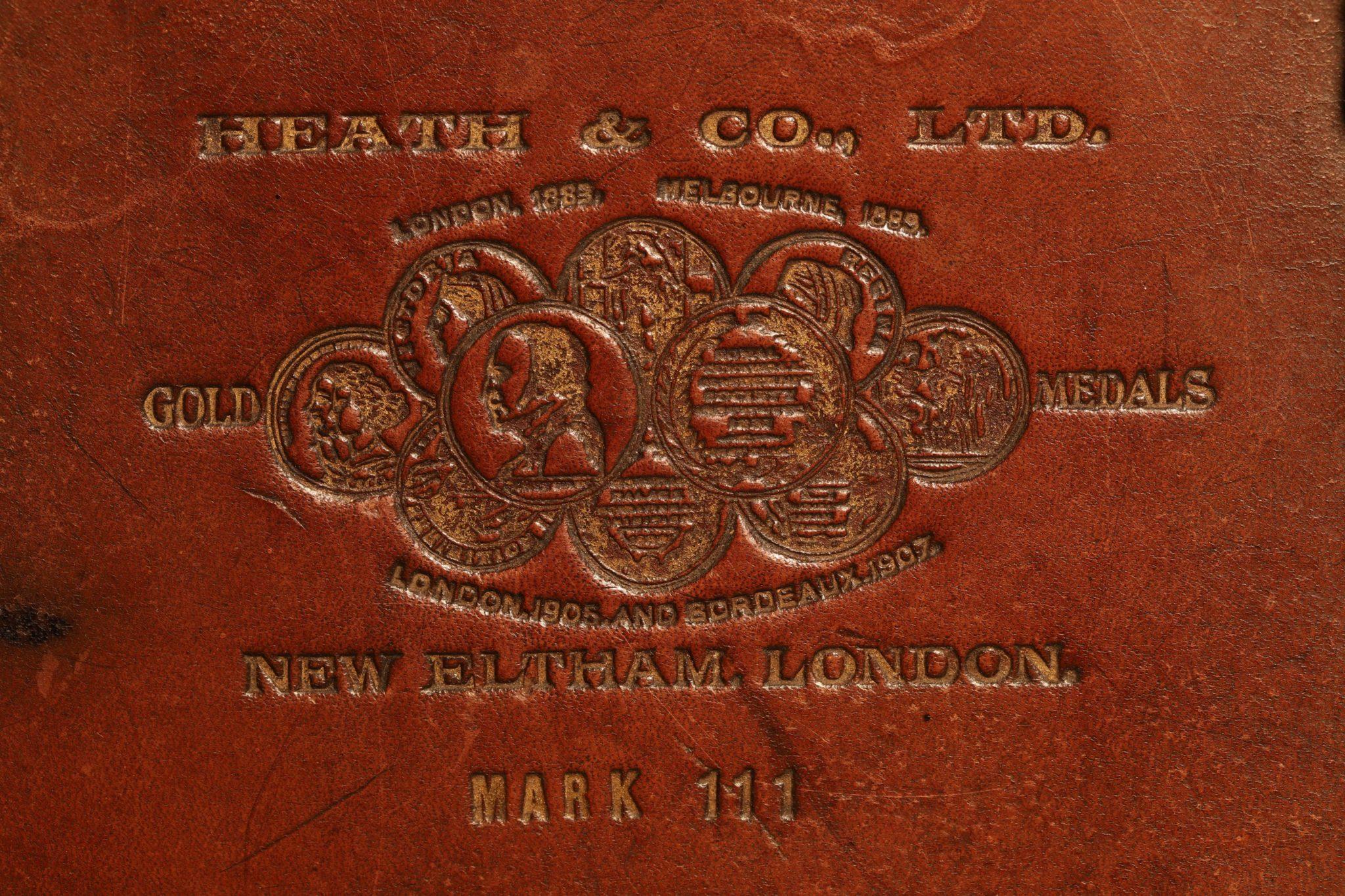Image of Heath Bell Pattern MK III Sextant c1919