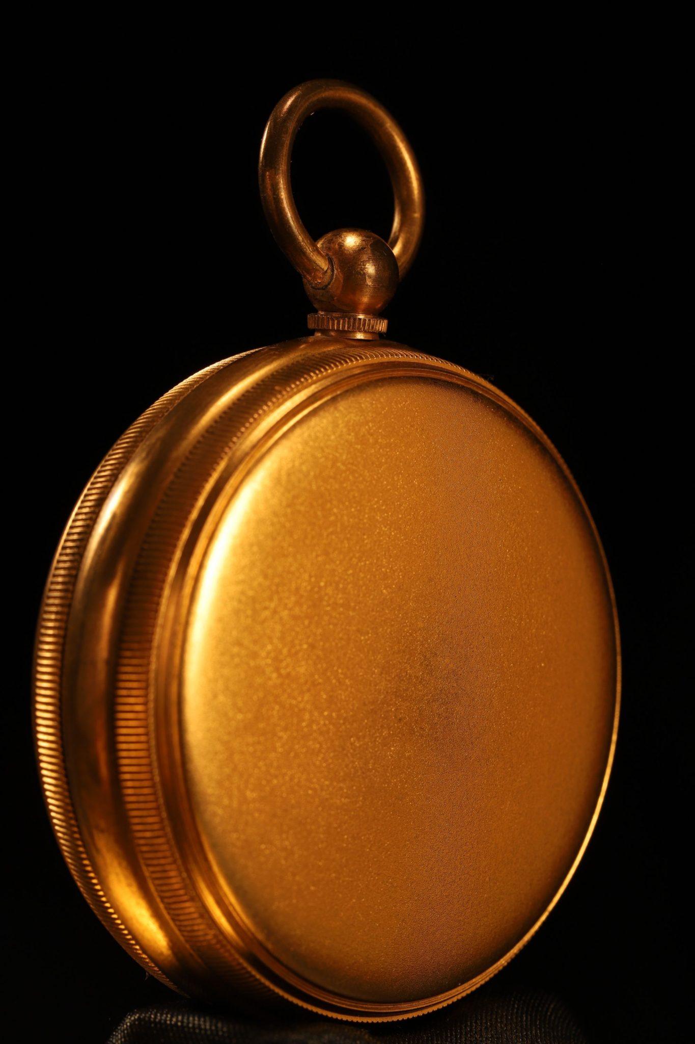 Image of Negretti & Zambra Pocket Barometer Travel Compendium No 9886 c1905