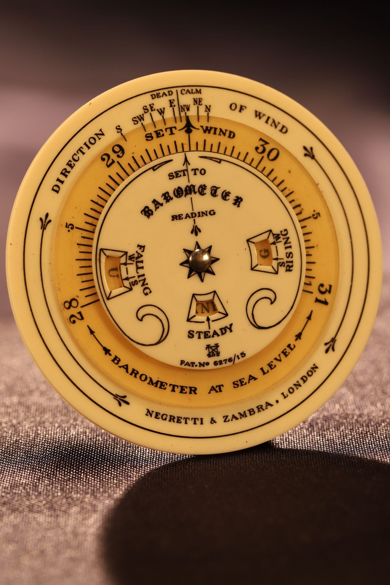 Image of Negretti & Zambra Pocket Forecaster c1925