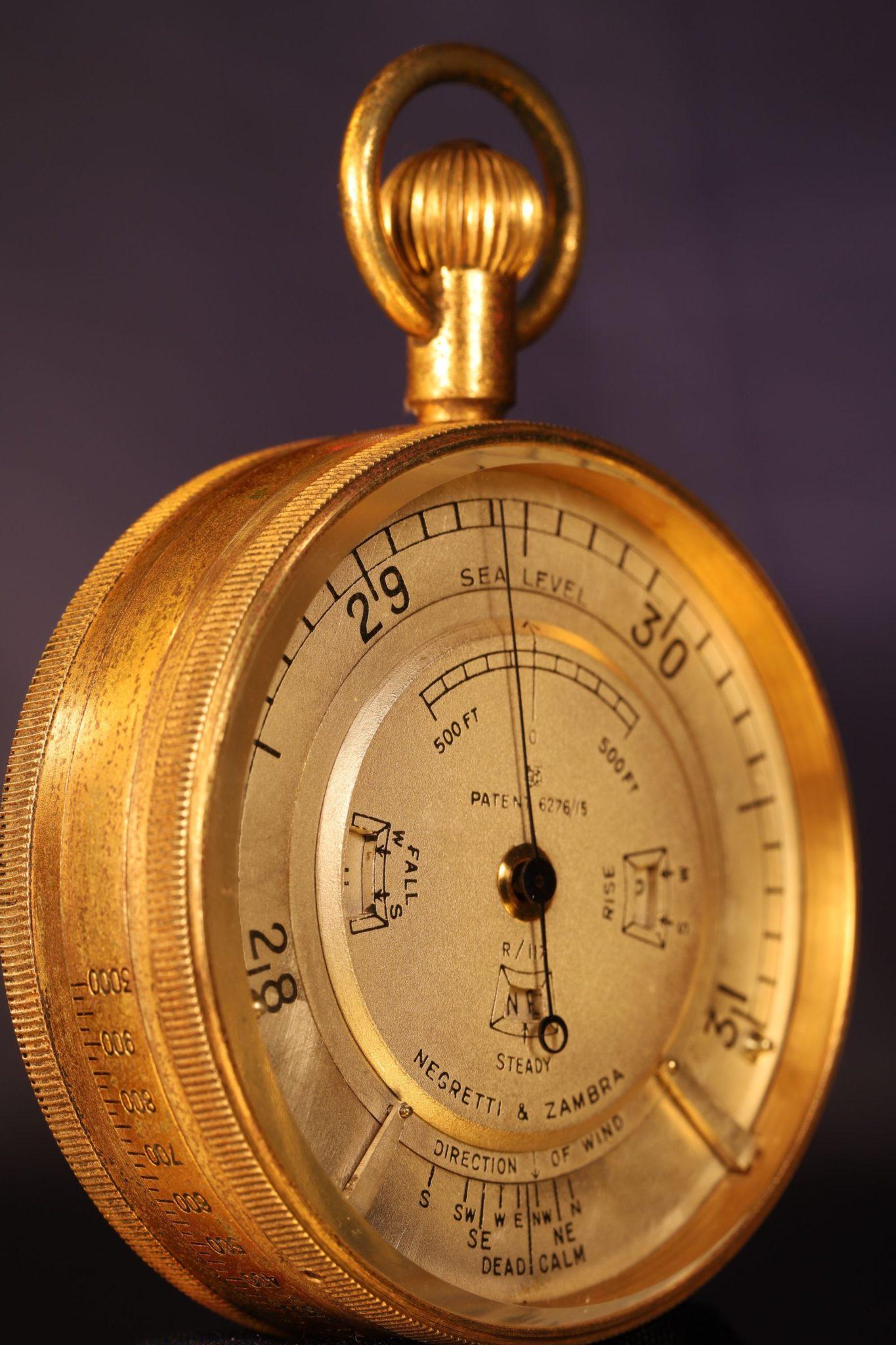 Image of Negretti & Zambra Weather Watch R/117 c1921