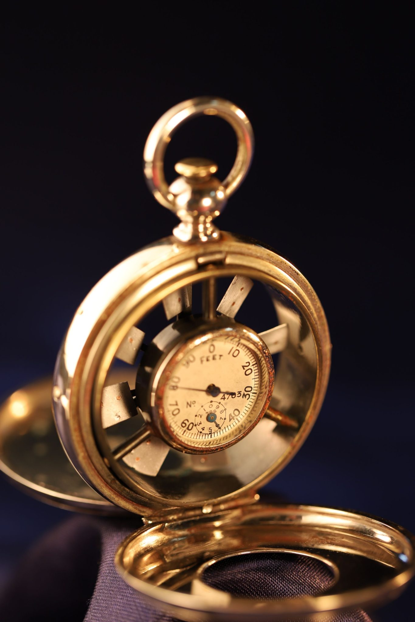 Image of Pocket Anemometer No 4703 by Schaeffer & Budenberg c1910