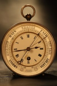 Image of Bourdon & Richard Clock Barometer No 539