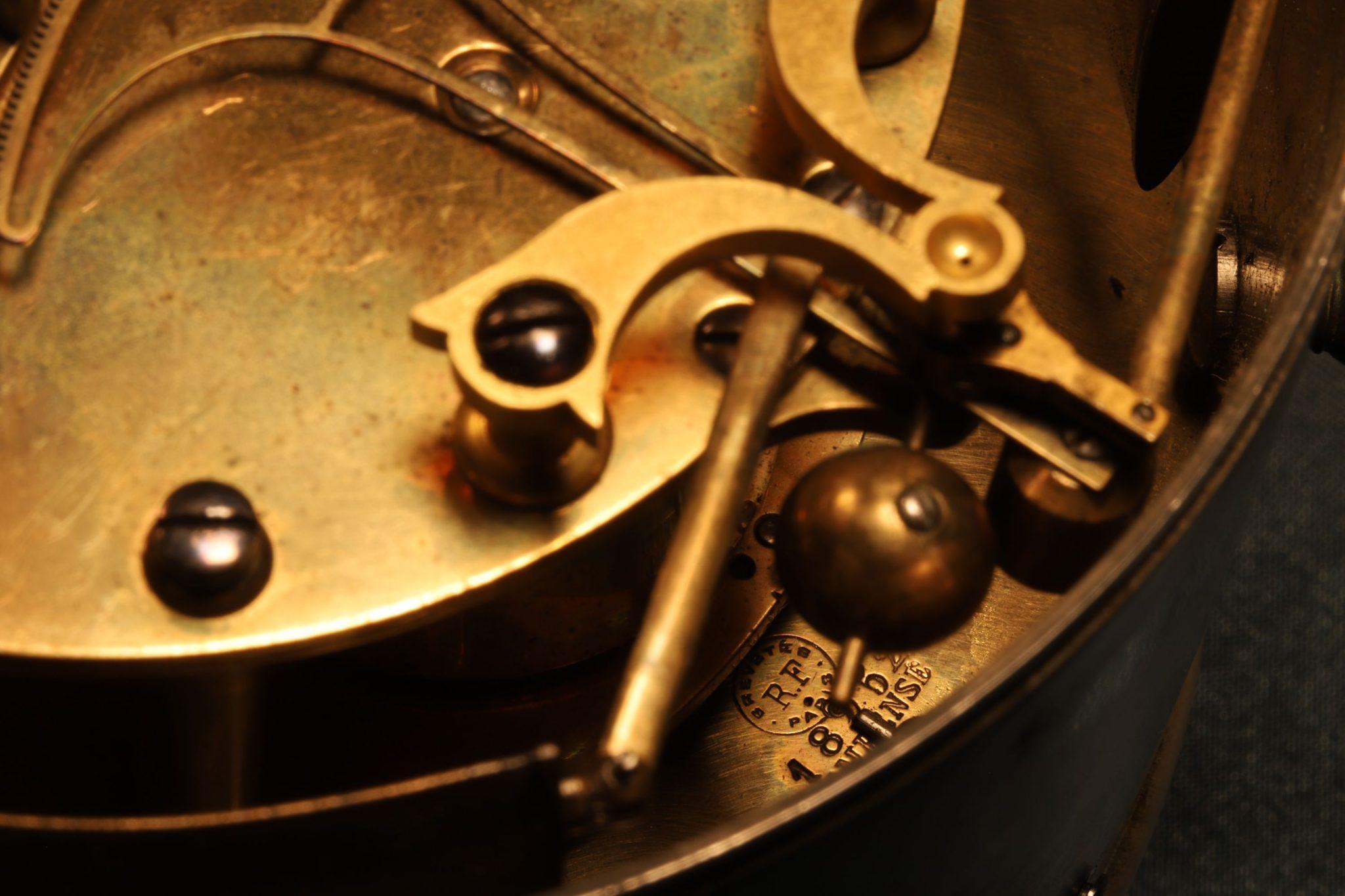 Image of Bourdon & Richard Clock Barometer No 539