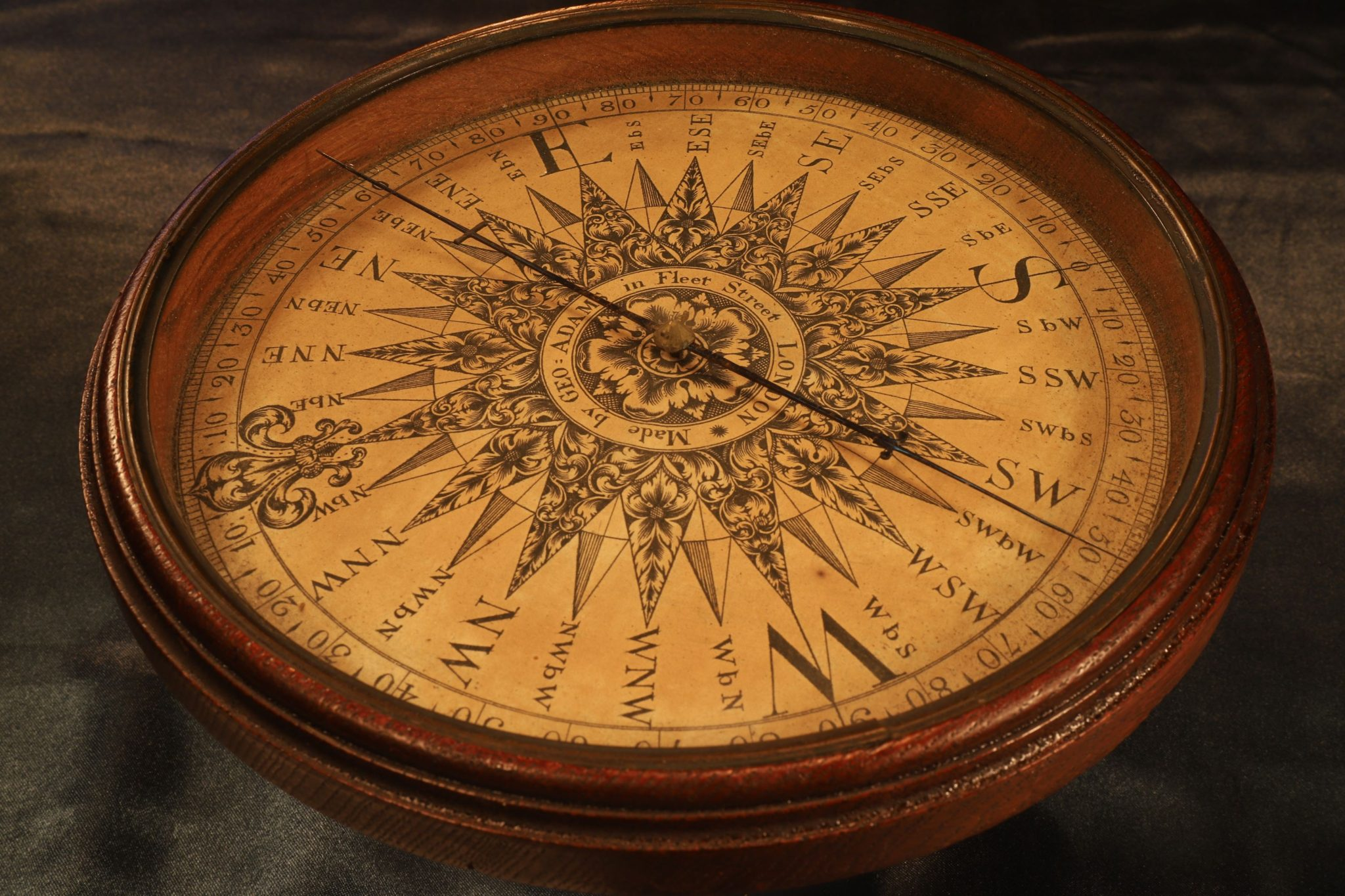 Image of George Adams Globe Compass c1775
