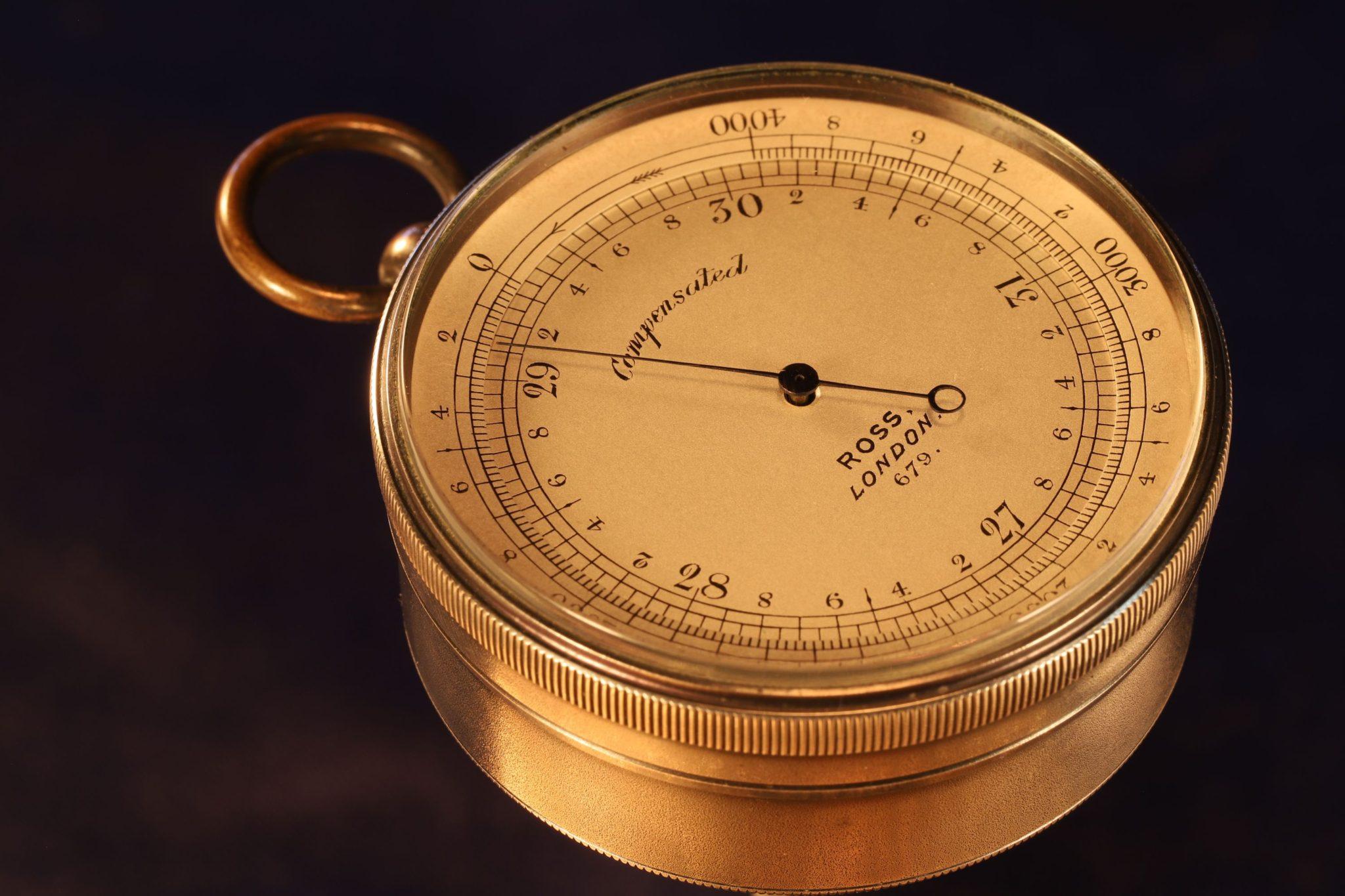 Image of Ross Pocket Barometer Altimeter No 679