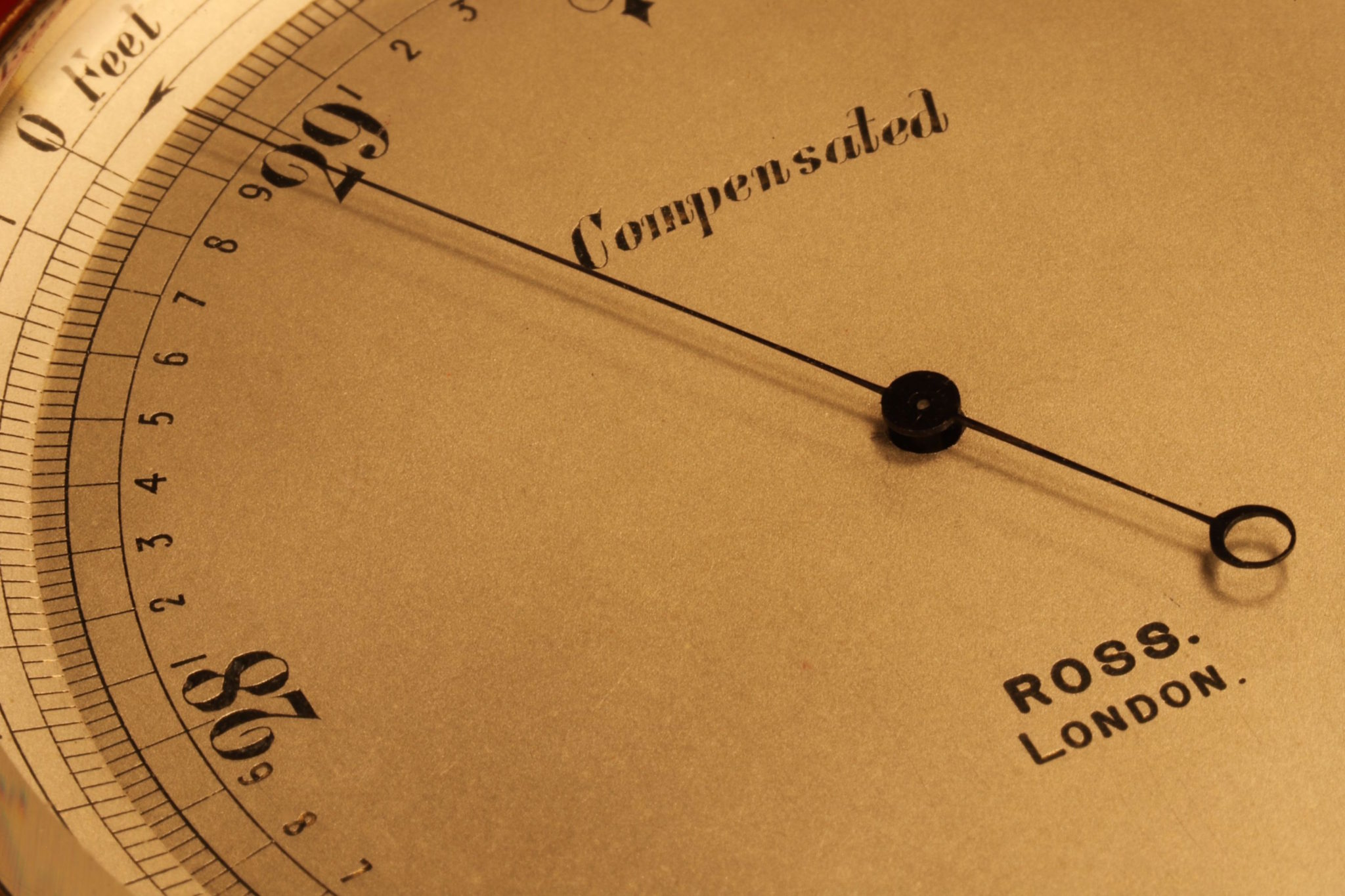 Image of Large Pocket Barometer by Ross Owned by Kate Fleming