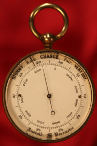 Image of Pocket Barometer by Antoine Redier c1875