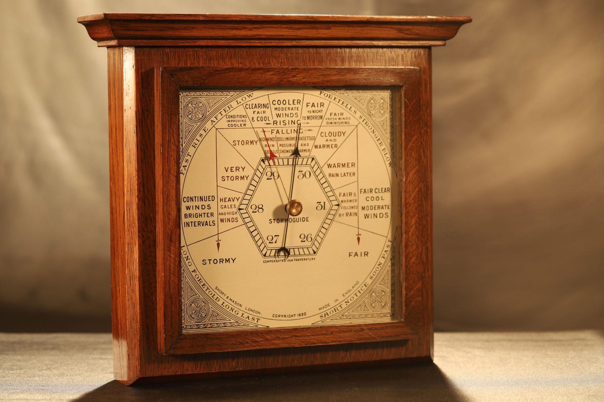 Image of Short & Mason Stormoguide Barometer c1930