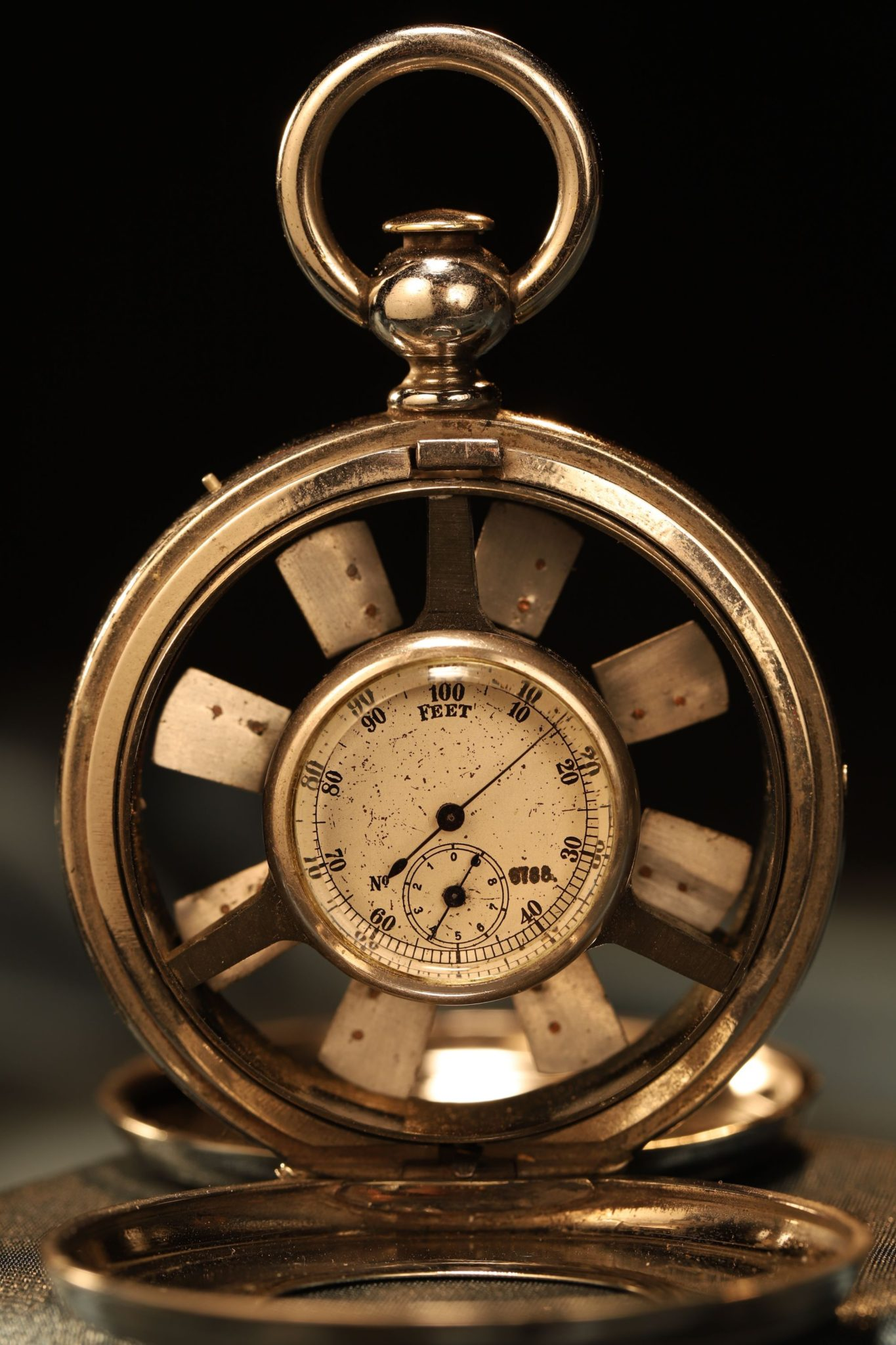 Image of Pocket Anemometer by Schaeffer & Budenberg No 6678 c1915