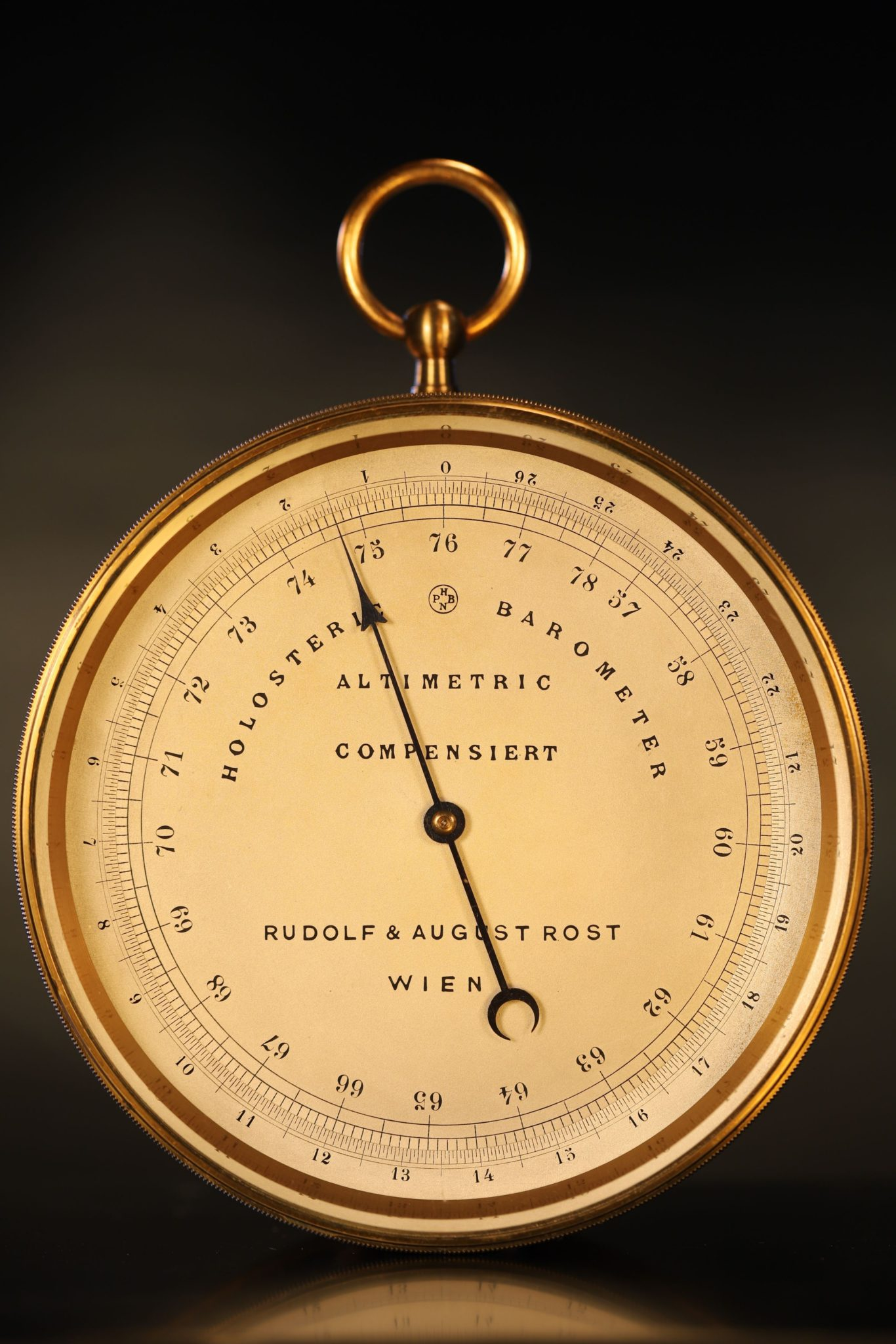 Image of Naudet Barometer Altimeter Retailed by Rost