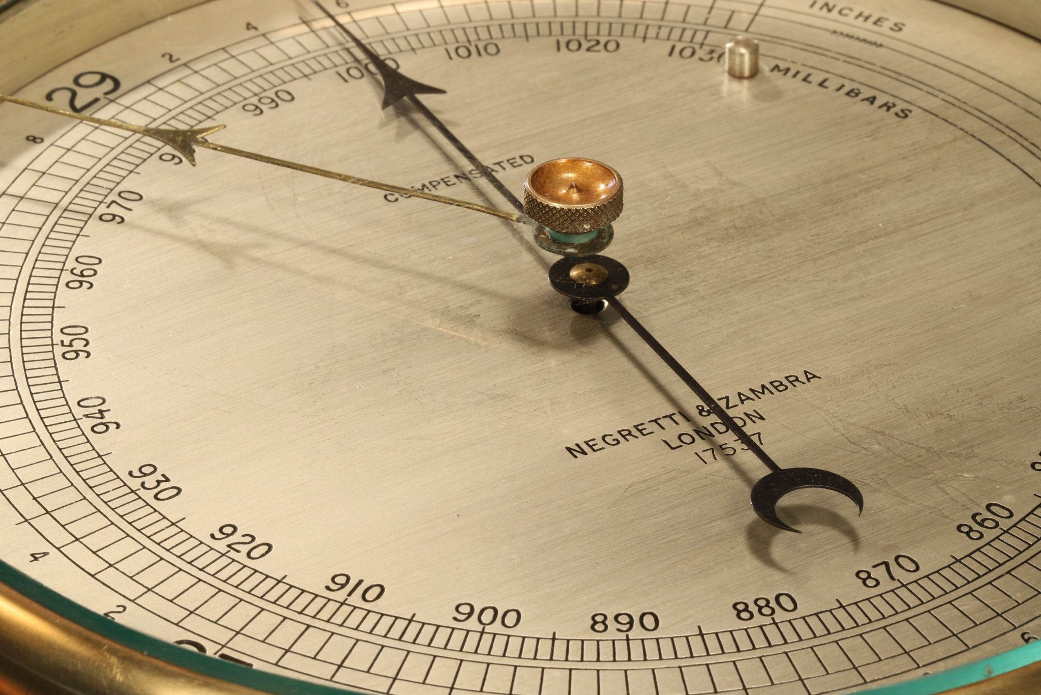 Image of Negretti & Zambra Submarine Barometer No 17537 c1940