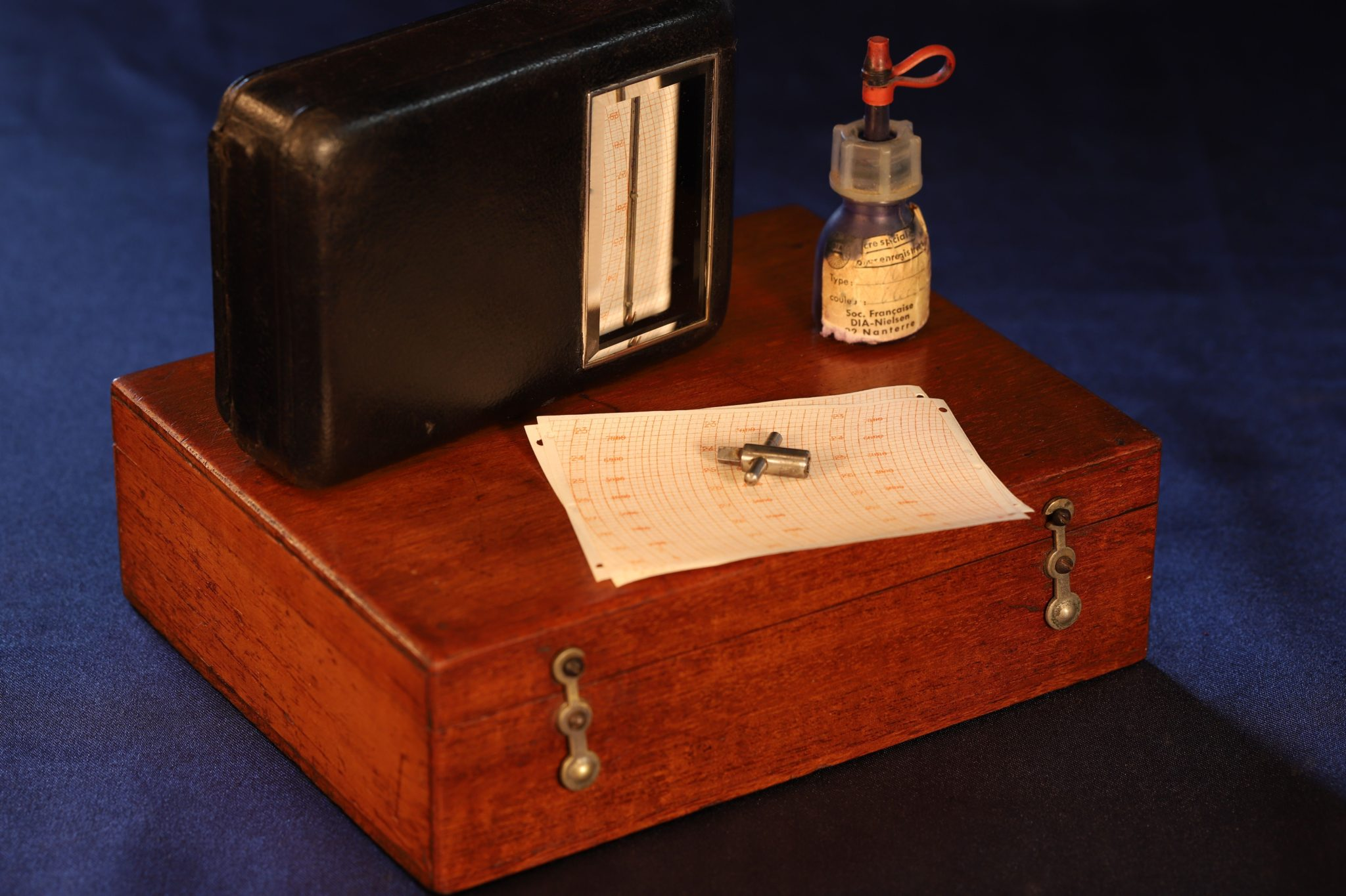 Image of Richard Freres Pocket Barograph No 1471 c1910