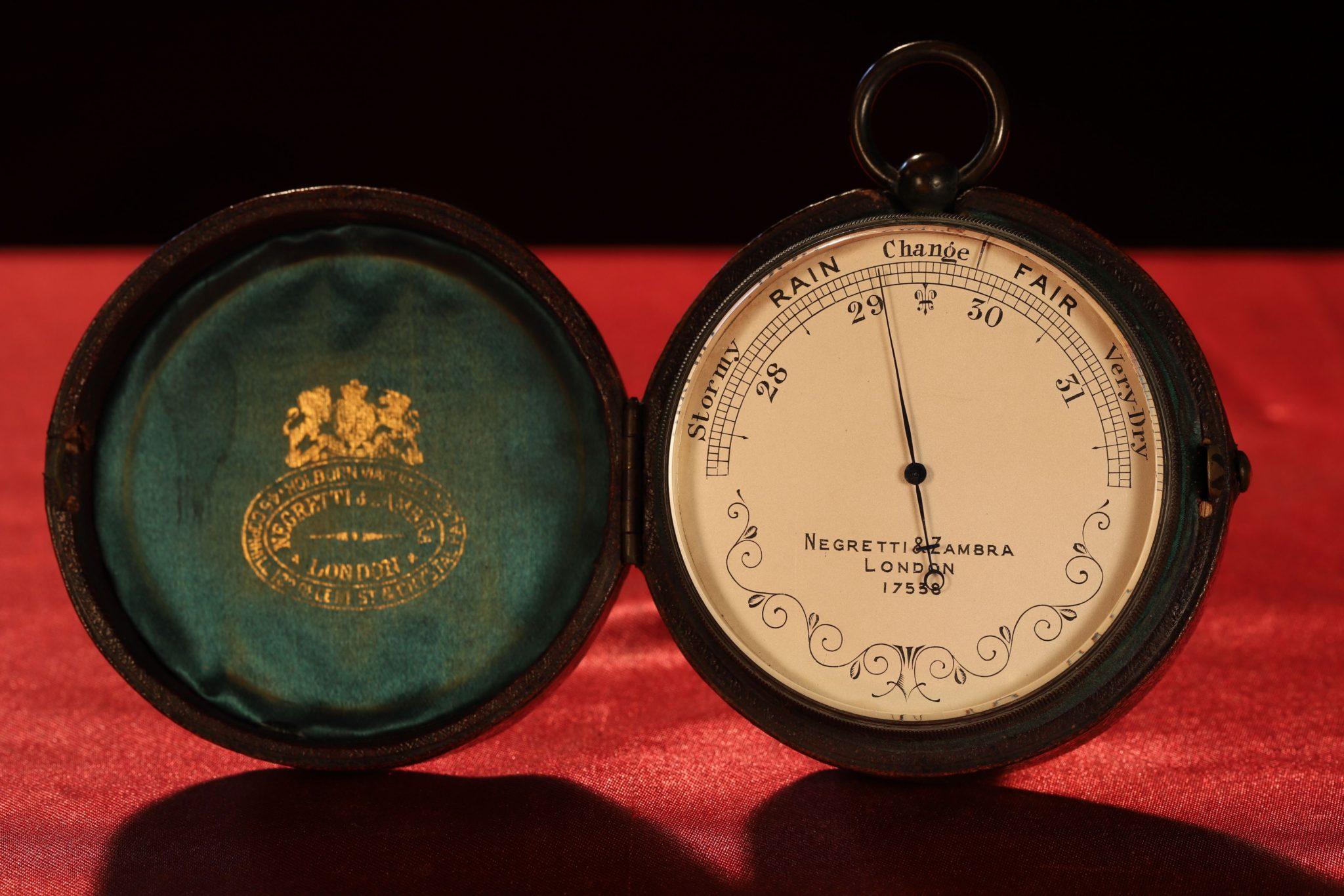 Image of Negretti & Zambra Pocket Barometer No 17538