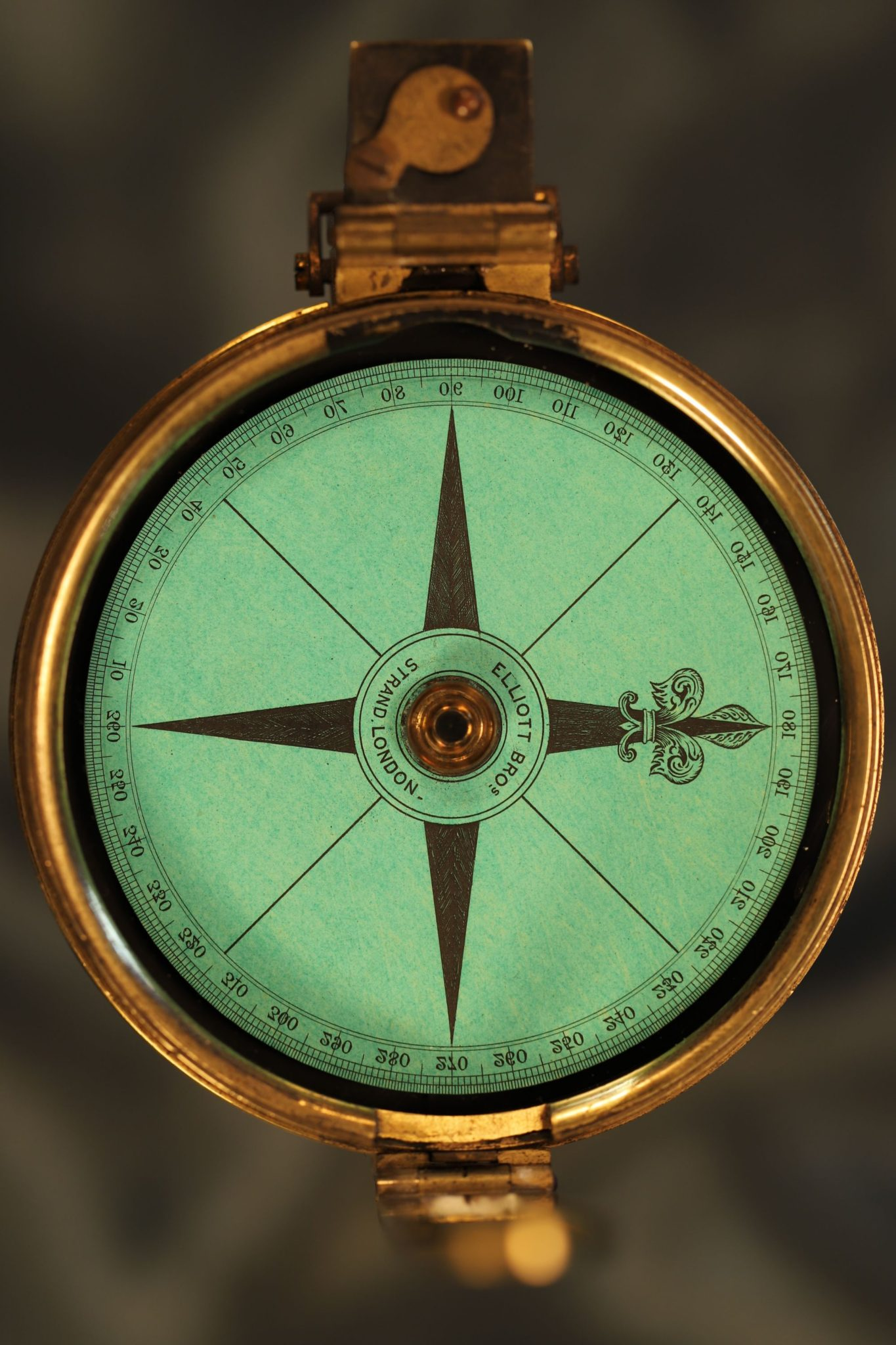 Image of Poles Clinometer & Compass by Elliott Brothers No 27