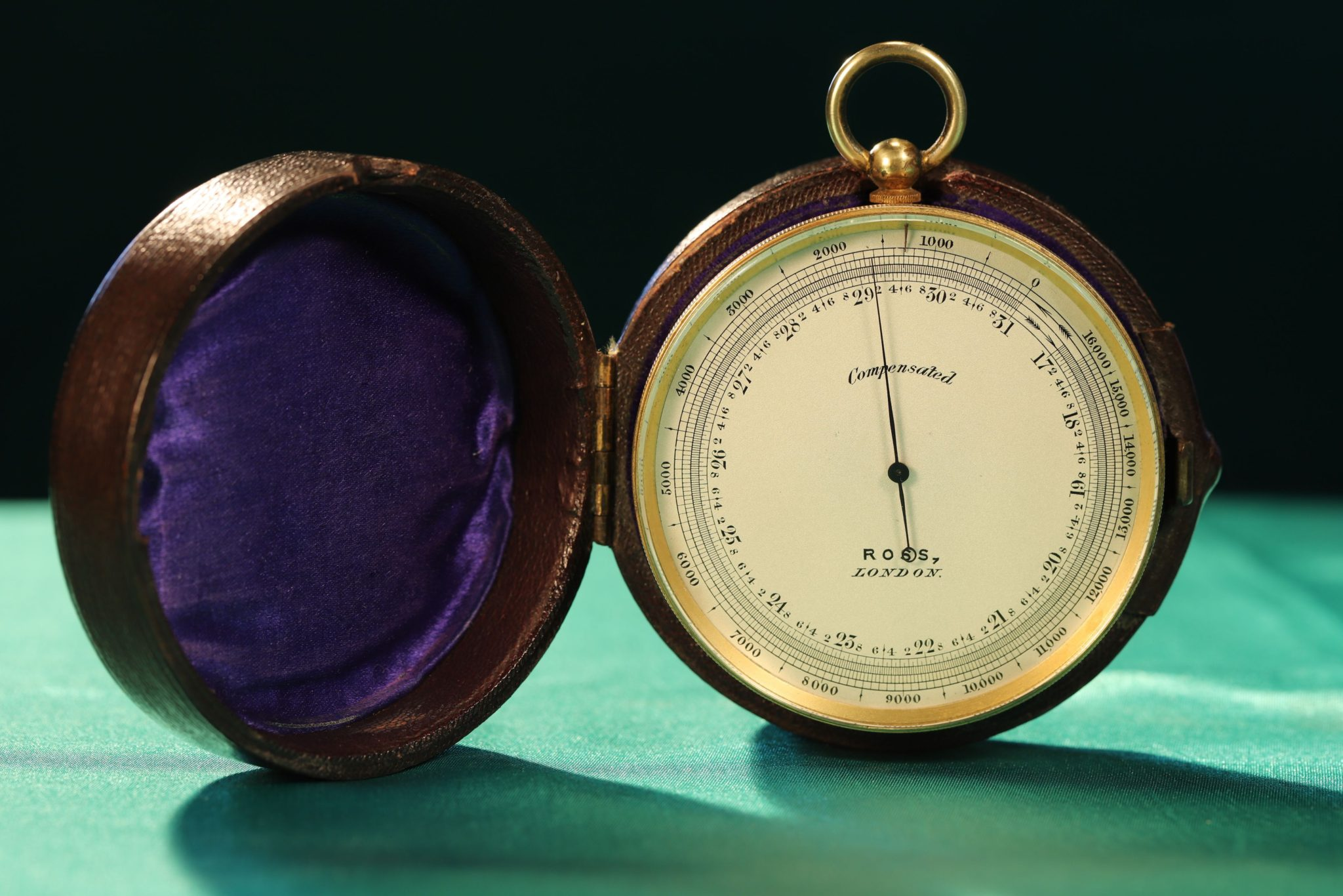 Image of Ross Pocket Barometer Compass Compendium