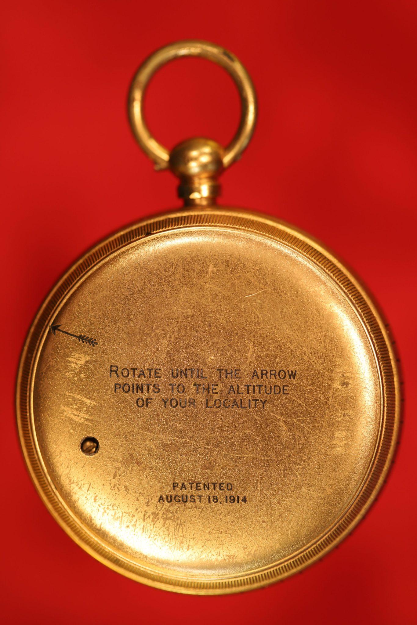 Image of Short & Mason Stormoguide Pocket Barometer No L59139