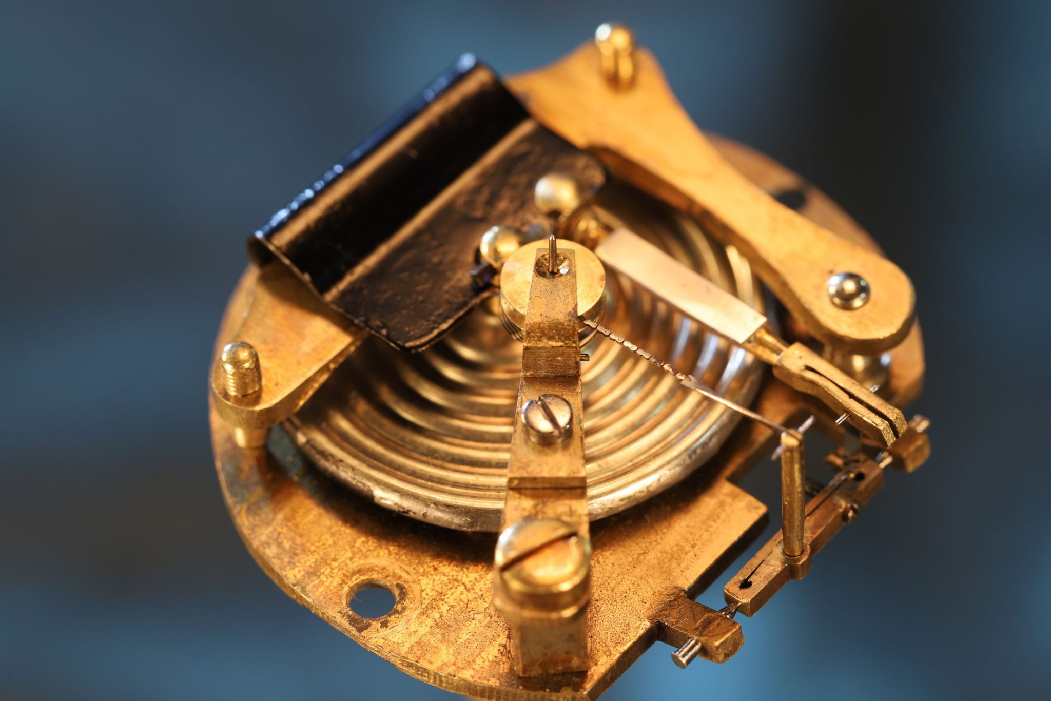 Image of Pocket Barometer Retailed by H. Daniels, No 1905