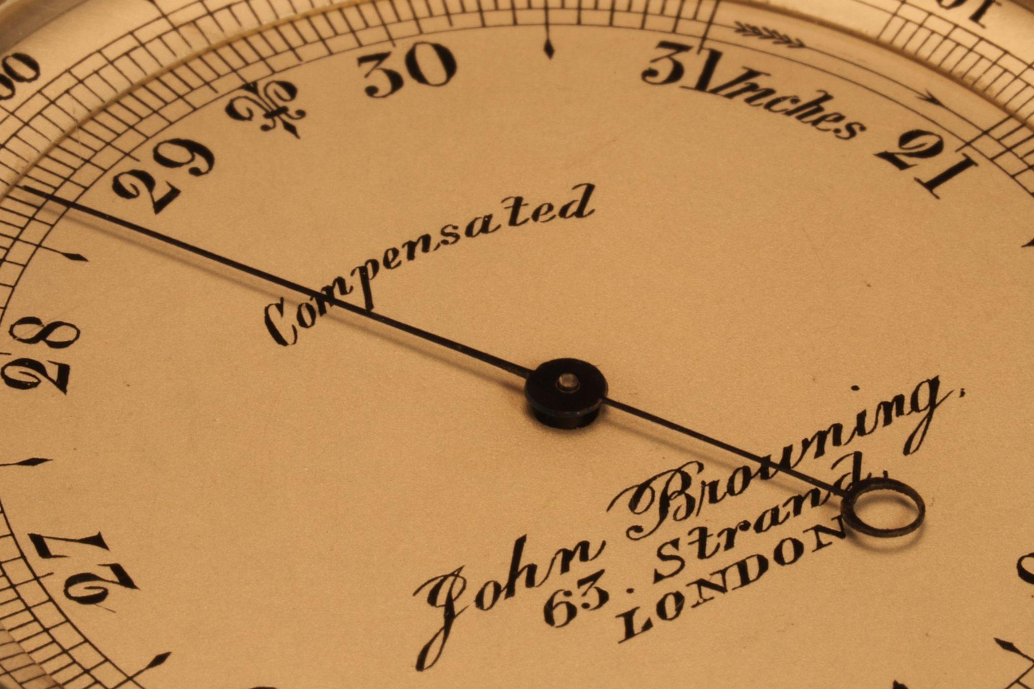 Image of Pocket Barometer by John Browning, London