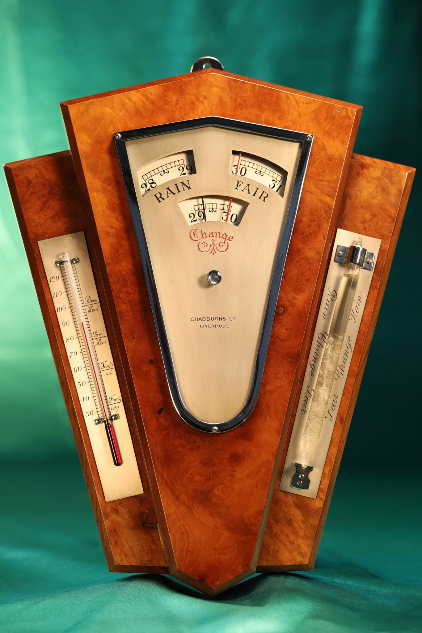 Image of Art Deco Weather Station by Chadburns Ltd c1930