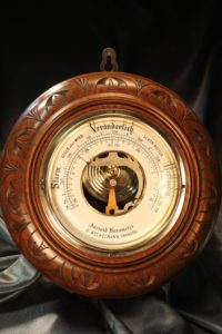 Image of Aneroid Barometer by Hechelmann c1895