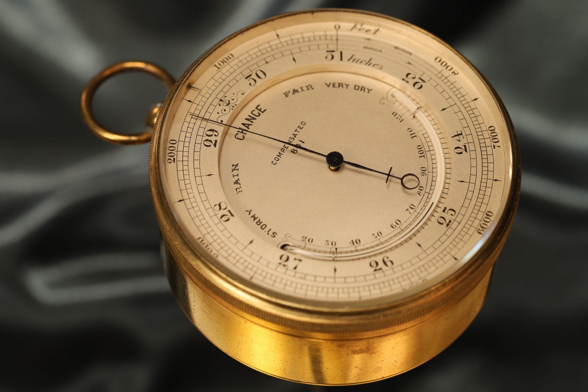 Image of Large Pocket Barometer by Negretti & Zambra c1866