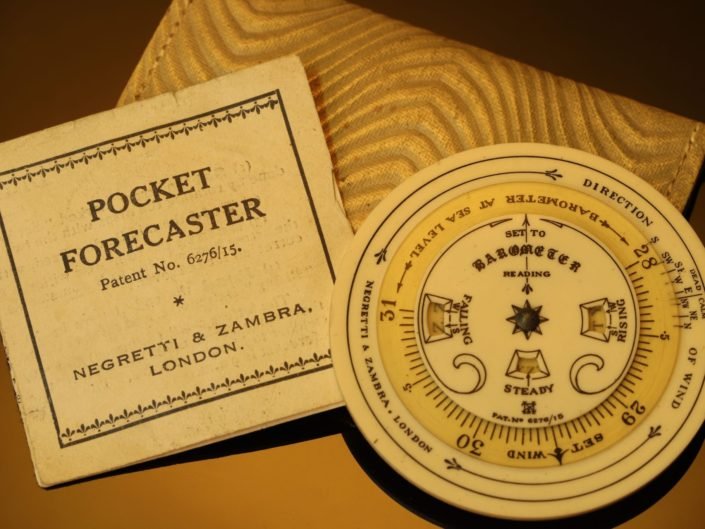 POCKET FORECASTER BY NEGRETTI & ZAMBRA c1925 - Reserved