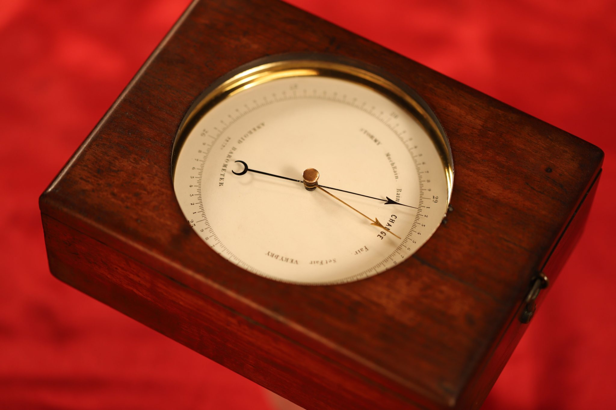 Image of Dent Barometer No 22720 in Chart Table Case