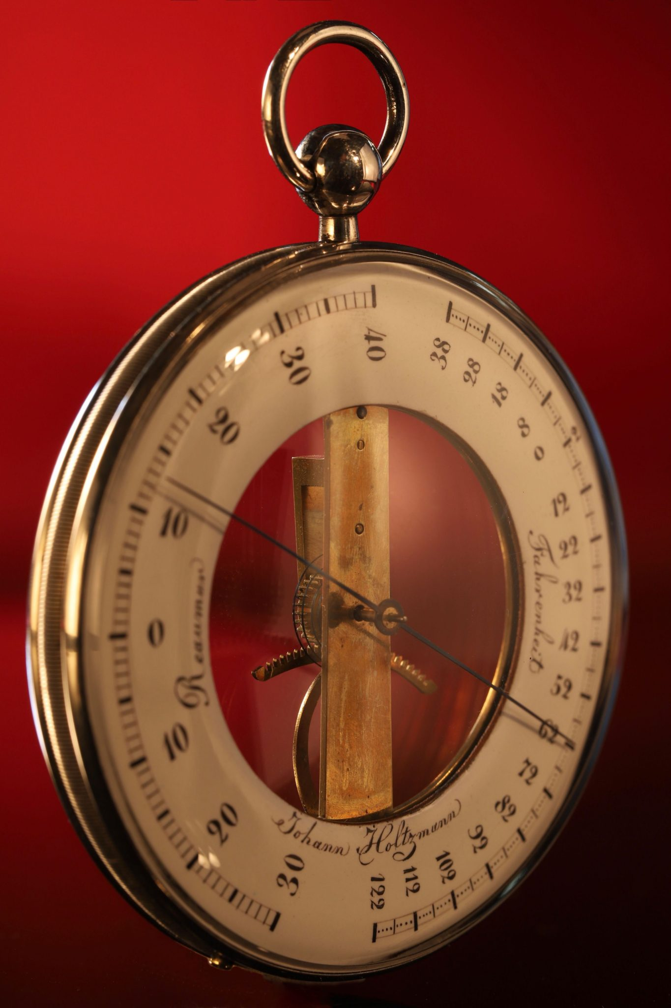 Image of Holtzmann Silver Thermometer