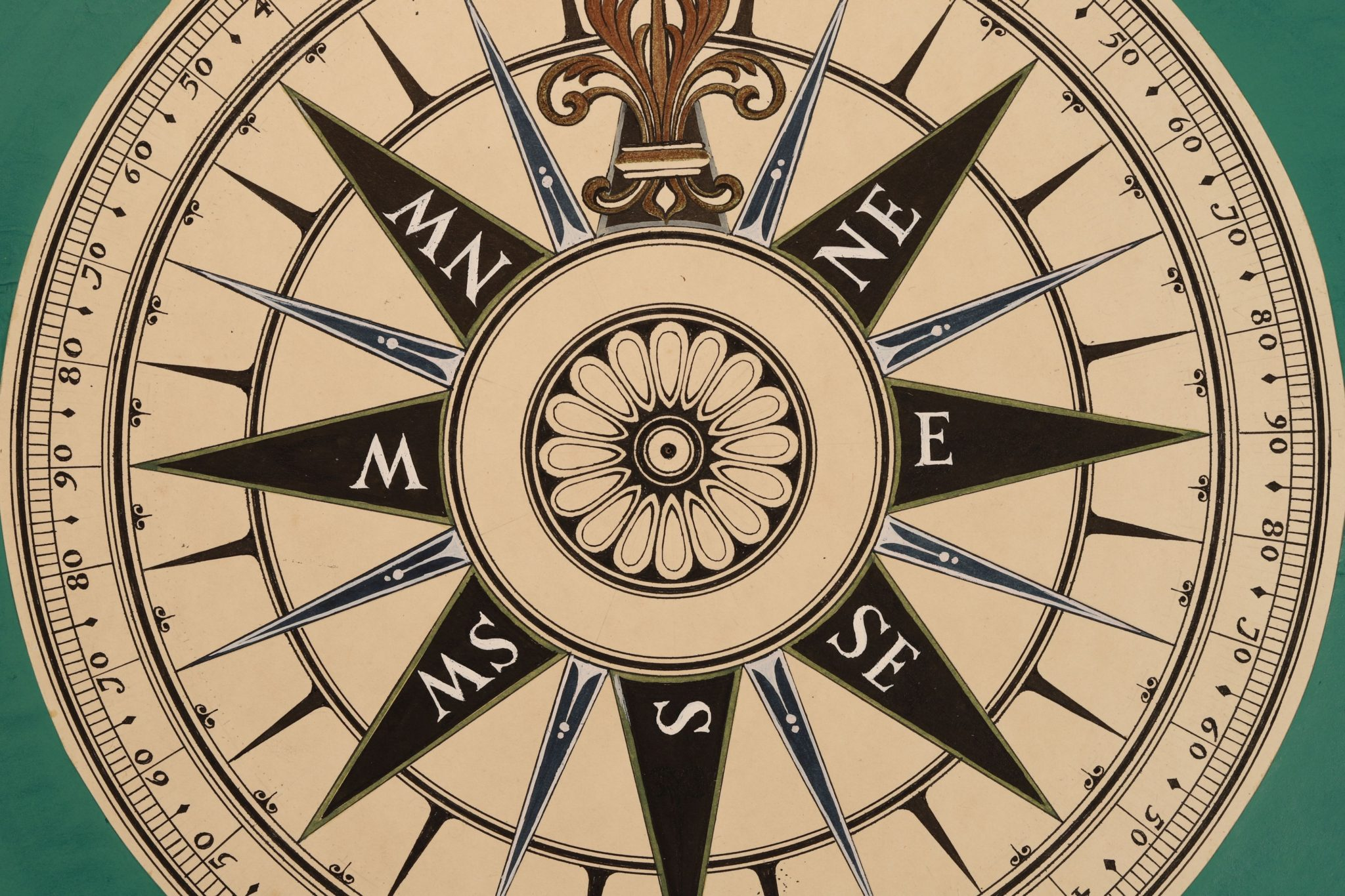 Image of Marine Compass Pattern