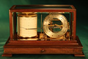 Image of Short & Mason Barograph No 9204 Retailed by Manoah Rhodes c1920