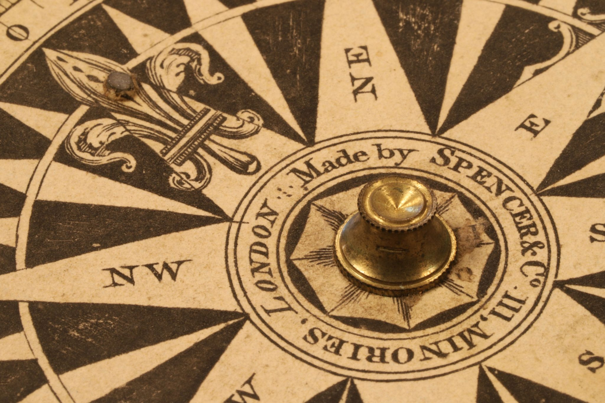 Image of Mariners or Explorers Compass by Spencer Browning & Co